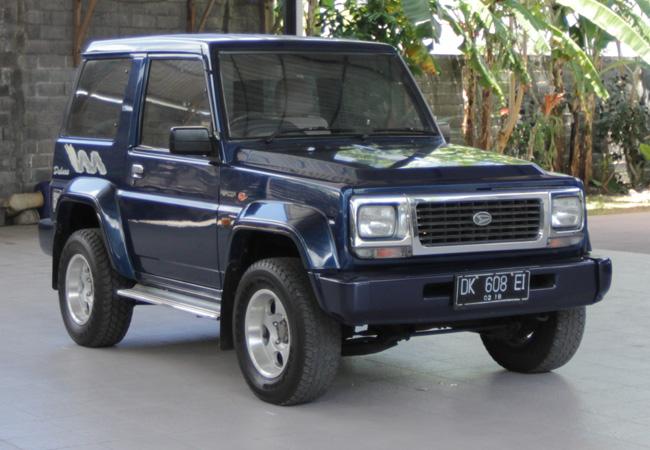 Daihatsu Feroza Bali Car Hire